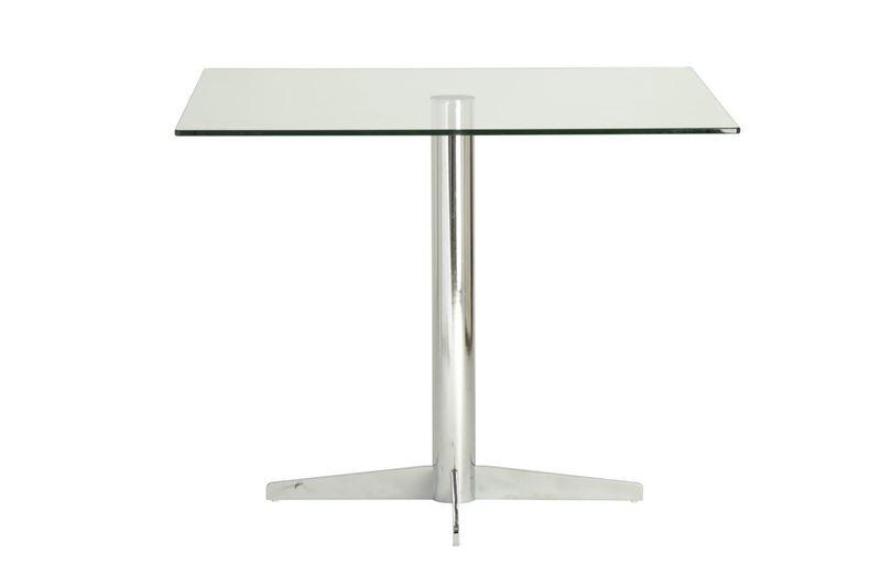 Classic cross base elbow dining table futureglass treniq 1 1520943849313