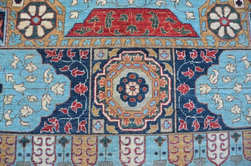 Blue mamluk nomadic rug  talam   khaadi treniq 1 1521016036819