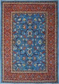 Tribal-Blue-Heriz-Nomadic-Rug_Talam-&-Khaadi_Treniq_0