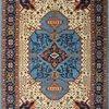 Tribal blue serapi nomadic rug talam   khaadi treniq 1 1521022278410