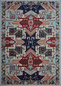 Tribal-Ivory-Geometric-Nomadic-Rug_Talam-&-Khaadi_Treniq_0