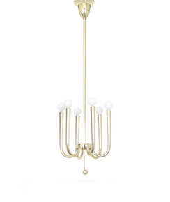 Italian-1930s-Brass-Chandelier,-Attributed-To-Gio-Ponti_Sergio-Jaeger_Treniq_0