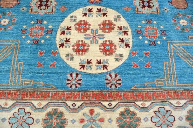 Blue khotan nomadic rug talam   khaadi treniq 1 1521092954265