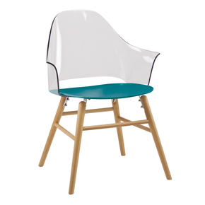 Blue Ravena Dining Chair