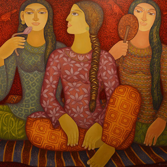 600x600 acrylic on canvas  rendezvous i  animesh biswas %c2%a31 500