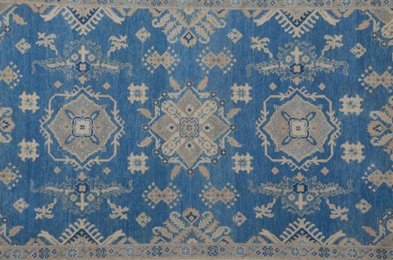 Geometric sultan hand knotted rug talam   khaadi treniq 1 1521621526048