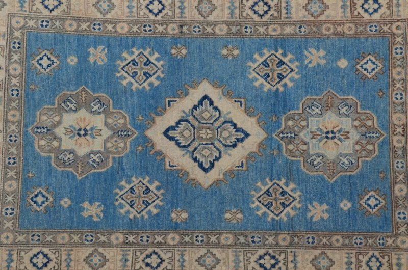 Geometric hand knotted rug talam   khaadi treniq 1 1521625231507