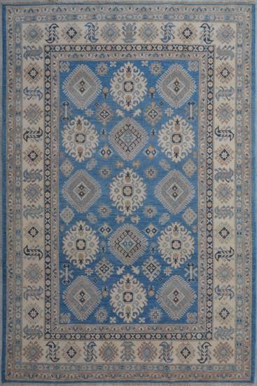 Geometric hand knotted rug talam   khaadi treniq 1 1521628394391