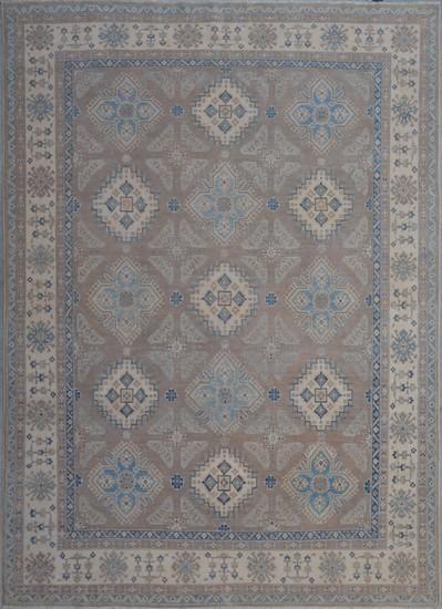 Geometric hand knotted rug talam   khaadi treniq 1 1521630245175