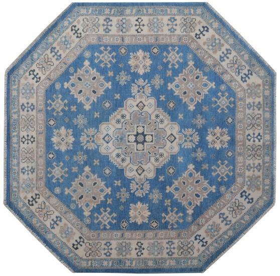Geometric octagon blue rug talam   khaadi treniq 1 1521634629469