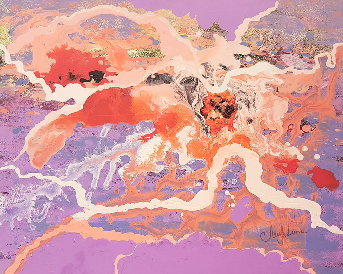 Metamorphose. smooth alteration painting lanagraphic treniq 1 1521648473711