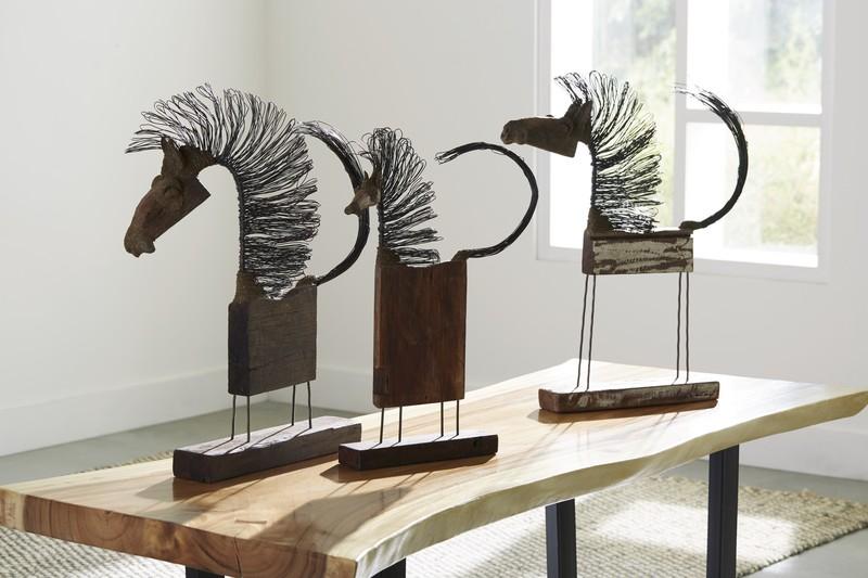 Wire horse sculptures phillips collection treniq 1 1521668989724