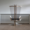Hippokanp lounge chair   footstool peter qvist treniq 1 1521706085596