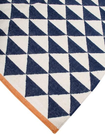 Blue shards by ana   noush  contemporary handwoven wool rug ana   noush treniq 1 1521841803384