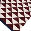 Maroon shards by ana   noush  contemporary handwoven wool rug ana   noush treniq 1 1521842328268