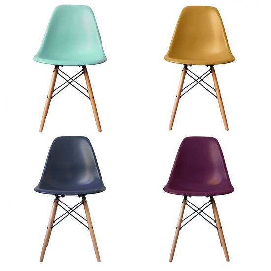 Jewel colour modern dining chair  20  colours cielshop treniq 1 1522067443754