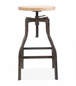 Adjustable-Industrial-Swivel-Stool-Wood-Top_Cielshop_Treniq_0