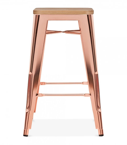 Counter height kitchen stool with wood top available in two heighta cielshop treniq 1 1522226288692