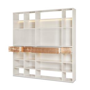Melbourne-Bookcase_Green-Apple-Home-Style_Treniq_0