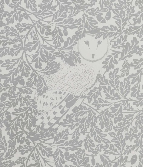 Hevensent forest dust dove grey wallpaper hevensent treniq 1 1522449698566