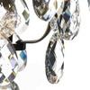 Ampel chandelier with crystals in dark brass gustavian style treniq 1 1522487739532