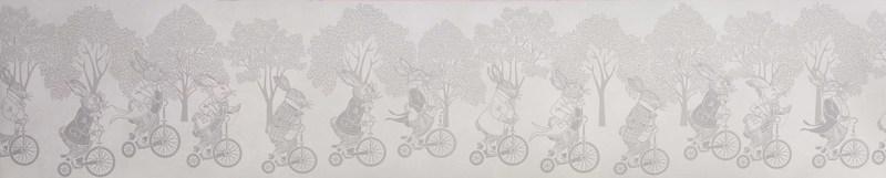 Hevensent racing rabbits border wallpaper hevensent treniq 1 1522496766760