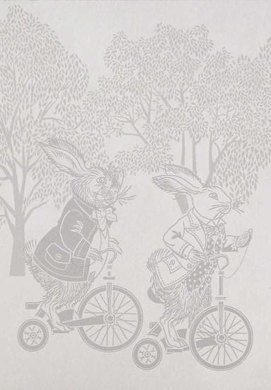 Hevensent racing rabbits border wallpaper hevensent treniq 1 1522496780280