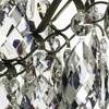6 arm crystal chandelier in dark coloured brass gustavian style treniq 1 1522519370326