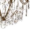 8 arm crystal chandelier in amber coloured brass gustavian style treniq 1 1522528101864
