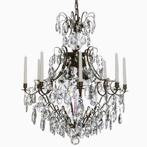 8-Arm-Crystal-Chandelier-In-Dark-Coloured-Brass_Gustavian-Style_Treniq_0