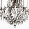 8 arm crystal chandelier in nickel plated brass gustavian style treniq 1 1522528298416