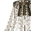 Empire crystal chandelier in dark brass gustavian style treniq 1 1522528470478