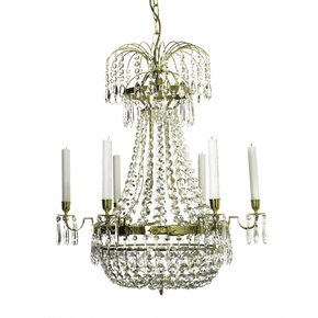 6-Arm-Empire-Crystal-Chandelier-In-Polished-Brass-With-A-Basket-Of-Crystal-Octagons_Gustavian-Style_Treniq_0