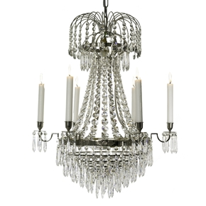6-Arm-Empire-Crystal-Chandelier-In-Nickel-Plated-Brass-With-Crystal-Drops_Gustavian-Style_Treniq_0