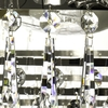 6 arm empire crystal chandelier in nickel plated brass with crystal drops gustavian style treniq 1 1522530930952