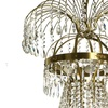 10 arm empire crystal chandelier in amber coloured brass with a basket of crystal octagons gustavian style treniq 1 1522532173512