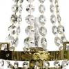 Empire style wall sconce in polished brass gustavian style treniq 1 1522621475680