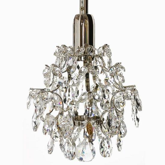 Window light in nickel plated brass and crystals gustavian style treniq 1 1522622484550