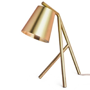 Table-Lamp-Brushed-And-Lacquered-Brass_Gustavian-Style_Treniq_0