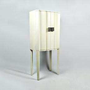 CBP White Cabinet - Ginger Brown - Treniq