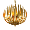Florentine antique gold leaf artichoke light gustavian style treniq 1 1522667352088