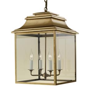 4-Candle-Brass-Lantern_Gustavian-Style_Treniq_0