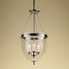 Polished nickel lantern with glass gustavian style treniq 1 1522668908370