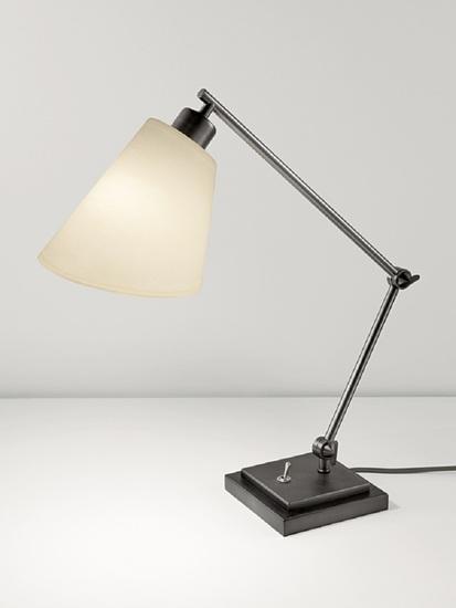 Desk lamp in black bronze gustavian style treniq 1 1522669055528