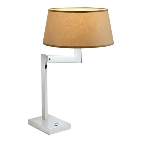 Chrome swing desk lamp gustavian style treniq 1 1522669302476