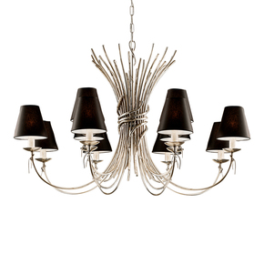 Antique-Silver-Leaf-Light-With-12-Shades_Gustavian-Style_Treniq_0