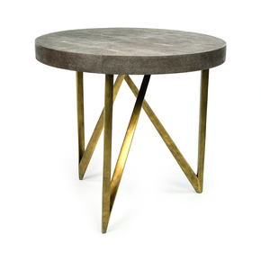 TB Reef Side Table - Ginger Brown - Treniq