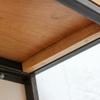 Orla welded dark steel box section and premium oak shelves carla muncaster treniq 1 1522918083883
