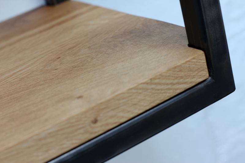 Orla welded dark steel box section and premium oak shelves carla muncaster treniq 1 1522918083885