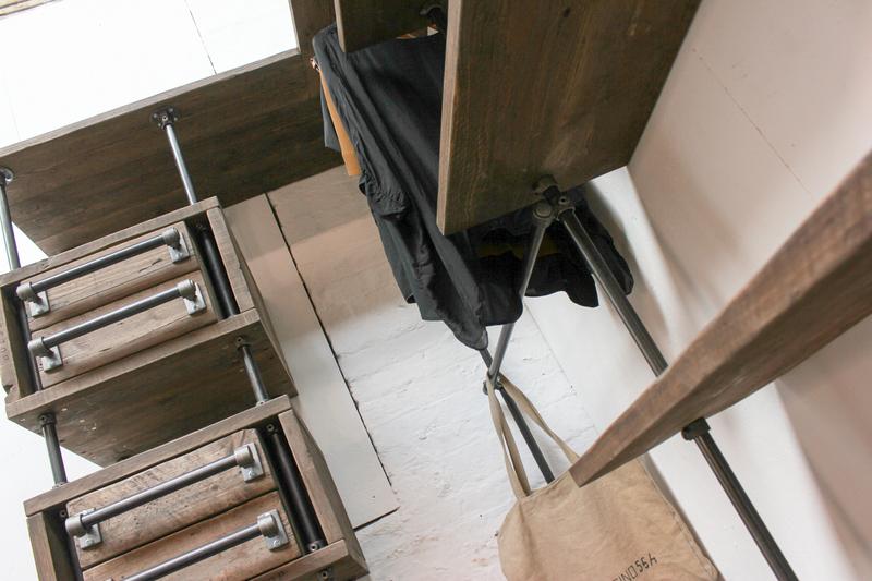 Stefan reclaimed scaffolding   steel pipe 3 sided industrial open wardrobe  carla muncaster treniq 1 1523005383764